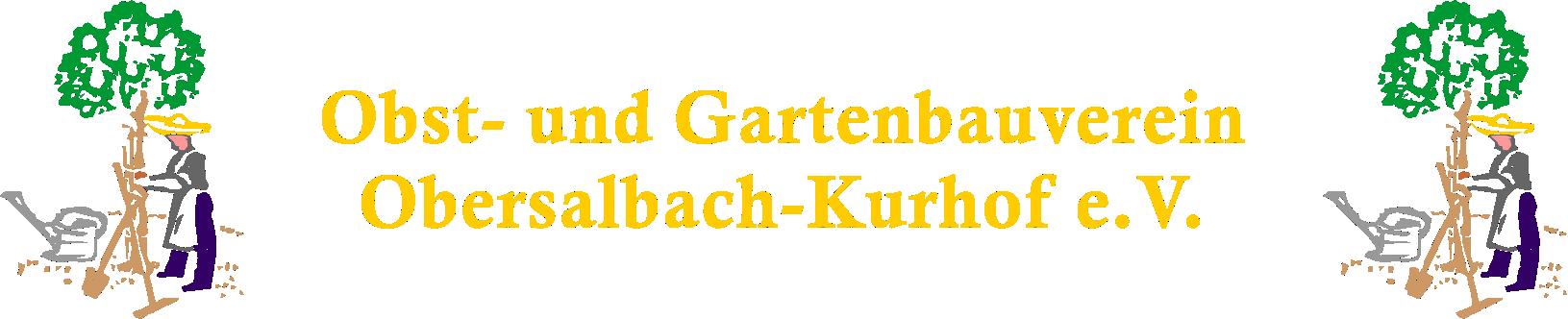 Obst- und Gartenbauverein - Obersalbach-Kurhof e.V.